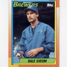 1990 Topps Baseball #739 Dale Sveum - Milwaukee Brewers