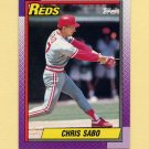 1990 Topps Baseball #737 Chris Sabo - Cincinnati Reds