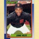 1990 Topps Baseball #732 Ernest Riles - San Francisco Giants