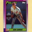 1990 Topps Baseball #731 Don Carman - Philadelphia Phillies