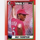 1990 Topps Baseball #688 Milt Thompson - St. Louis Cardinals