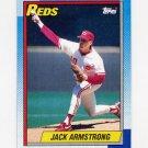 1990 Topps Baseball #642 Jack Armstrong - Cincinnati Reds