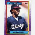 1990 Topps Baseball #621 Melido Perez - Chicago White Sox