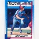 1990 Topps Baseball #589 Mike Aldrete - Montreal Expos