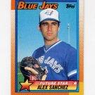 1990 Topps Baseball #563 Alex Sanchez - Toronto Blue Jays