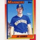 1990 Topps Baseball #554 Jay Buhner - Seattle Mariners