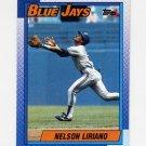 1990 Topps Baseball #543 Nelson Liriano - Toronto Blue Jays
