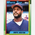 1990 Topps Baseball #524 Daryl Boston - Chicago White Sox