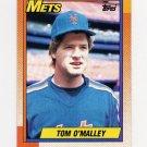 1990 Topps Baseball #504 Tom O'Malley - New York Mets