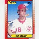 1990 Topps Baseball #492 Ron Oester - Cincinnati Reds