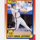 1990 Topps Baseball #457 Gregg Jefferies - New York Mets