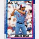1990 Topps Baseball #432 Damaso Garcia - Montreal Expos