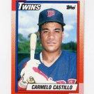 1990 Topps Baseball #427 Carmelo Castillo - Minnesota Twins