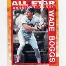 1990 Topps Baseball #387 Wade Boggs AS - Boston Red Sox