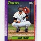1990 Topps Baseball #366 Mike Heath - Detroit Tigers