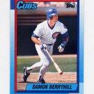 1990 Topps Baseball #362 Damon Berryhill - Chicago Cubs