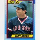 1990 Topps Baseball #355 Marty Barrett - Boston Red Sox