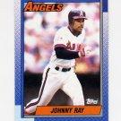 1990 Topps Baseball #334 Johnny Ray - California Angels