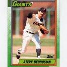 1990 Topps Baseball #310 Steve Bedrosian - San Francisco Giants