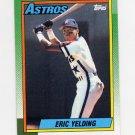 1990 Topps Baseball #309 Eric Yelding RC - Houston Astros