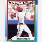 1990 Topps Baseball #285 Willie McGee - St. Louis Cardinals
