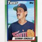 1990 Topps Baseball #266 German Gonzalez - Minnesota Twins