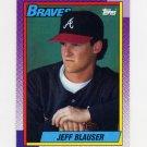1990 Topps Baseball #251 Jeff Blauser - Atlanta Braves