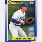1990 Topps Baseball #226 Mickey Hatcher - Los Angeles Dodgers