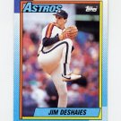 1990 Topps Baseball #225 Jim Deshaies - Houston Astros