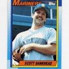 1990 Topps Baseball #213 Scott Bankhead - Seattle Mariners