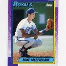 1990 Topps Baseball #202 Mike Macfarlane - Kansas City Royals