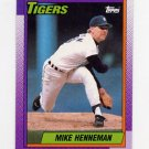 1990 Topps Baseball #177 Mike Henneman - Detroit Tigers