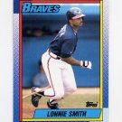 1990 Topps Baseball #152 Lonnie Smith - Atlanta Braves