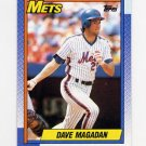 1990 Topps Baseball #135 Dave Magadan - New York Mets