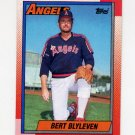 1990 Topps Baseball #130 Bert Blyleven - California Angels