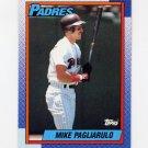 1990 Topps Baseball #063 Mike Pagliarulo - San Diego Padres