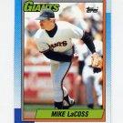 1990 Topps Baseball #053 Mike LaCoss - San Francisco Giants