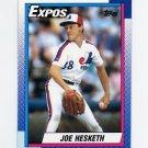1990 Topps Baseball #024 Joe Hesketh - Montreal Expos