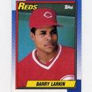 1990 Topps Baseball #010 Barry Larkin - Cincinnati Reds