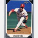 1991 Leaf Baseball #507 Cris Carpenter - St. Louis Cardinals