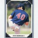 1991 Leaf Baseball #505 Steve Bedrosian - Minnesota Twins