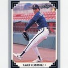 1991 Leaf Baseball #462 Xavier Hernandez - Houston Astros
