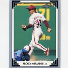1991 Leaf Baseball #383 Mickey Morandini - Philadelphia Phillies