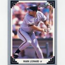 1991 Leaf Baseball #369 Mark Leonard RC - San Francisco Giants