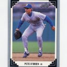 1991 Leaf Baseball #244 Pete O'Brien - Seattle Mariners