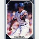 1991 Leaf Baseball #221 Shawn Boskie - Chicago Cubs