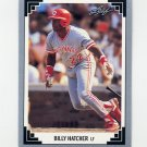 1991 Leaf Baseball #205 Billy Hatcher - Cincinnati Reds