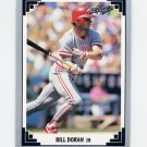 1991 Leaf Baseball #197 Bill Doran - Cincinnati Reds