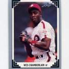1991 Leaf Baseball #178 Wes Chamberlain RC - Philadelphia Phillies
