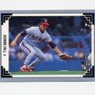 1991 Leaf Baseball #177 Donnie Hill - California Angels